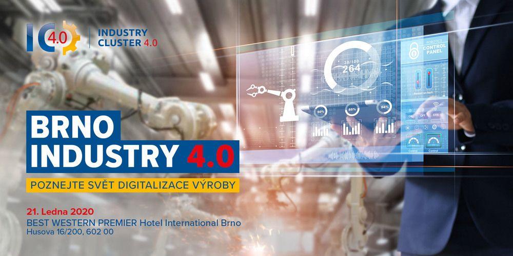 Brno jede na vlně Industry 4.0 už po 4té!