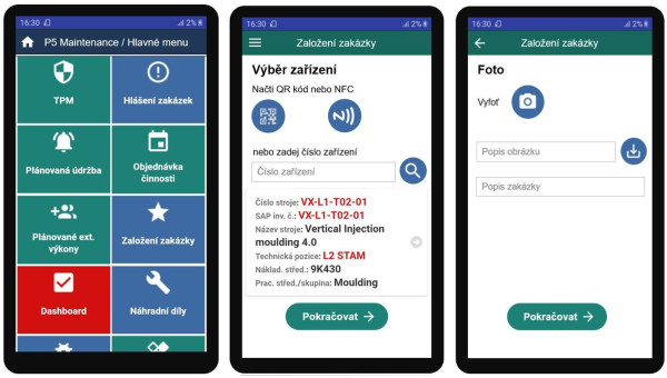 Inovativní mobilita údržby ve Smart Maintenance